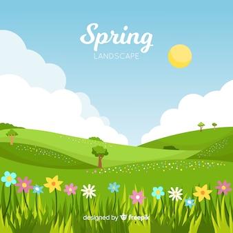 Wiosna krajobraz