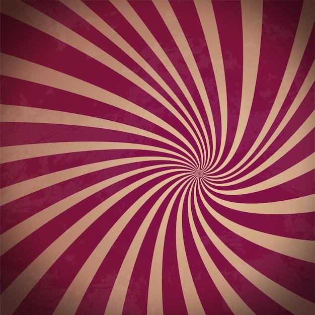 Wirujące promieniowe wzór tła