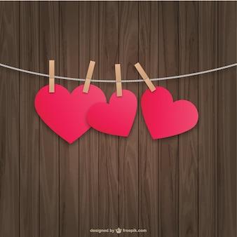 Wiszące serca