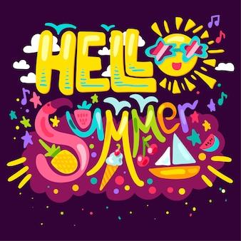 Witaj lato koncepcji