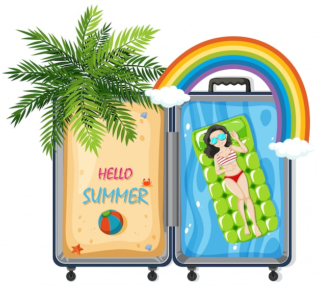 Witaj lato w walizce