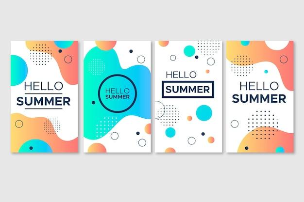 Witaj, letnia kolekcja historii na instagramie