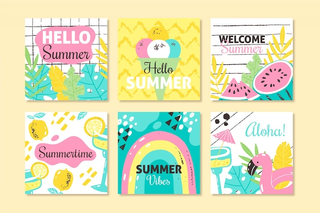 Witaj, letnia kolekcja instagramów