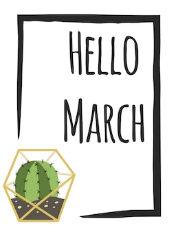 Witaj marsz karty