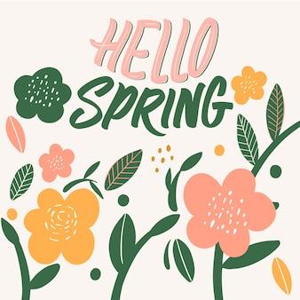 Witaj, typografii wiosennej