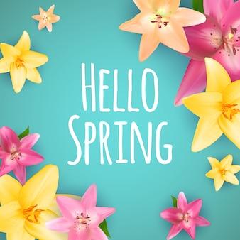 Witaj wiosenna karta