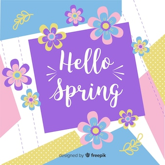 Witaj wiosna tło