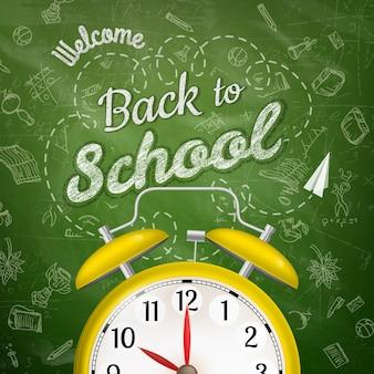 Witaj z powrotem w szkole.