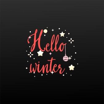 Witaj zimo. baner na wakacje
