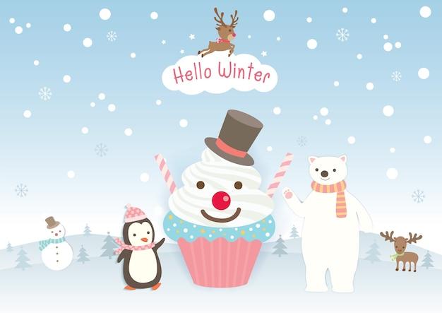 Witaj zimowe ciastko