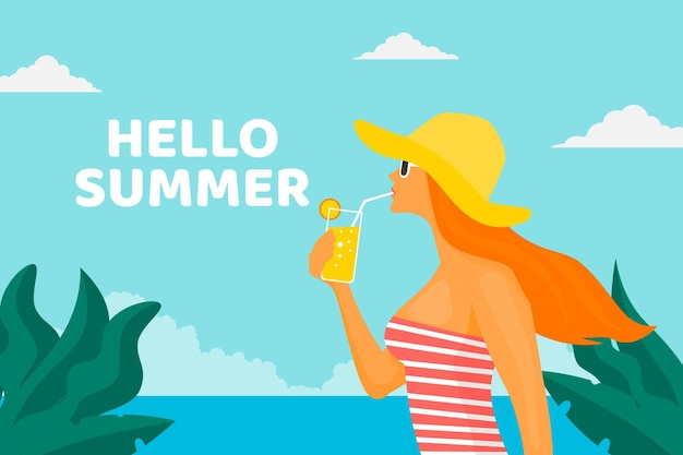 Witam koncepcja lato