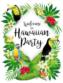 Witamy na hawajskim przyjęciu!