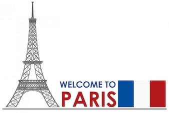 Witamy w paryskiej wieży eiffla