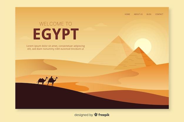 Witamy w szablonie strony docelowej w egipcie