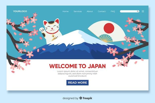 Witamy w szablonie strony docelowej w japonii