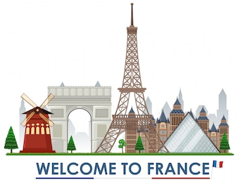 Witamy w zabytkach Francji
