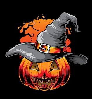 Witch pumpkins