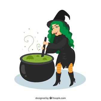 Witch tło robi eliksir