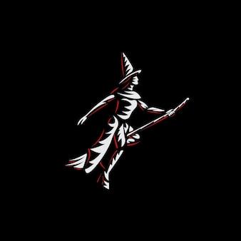 Witcher logo ilustracje wektorowe