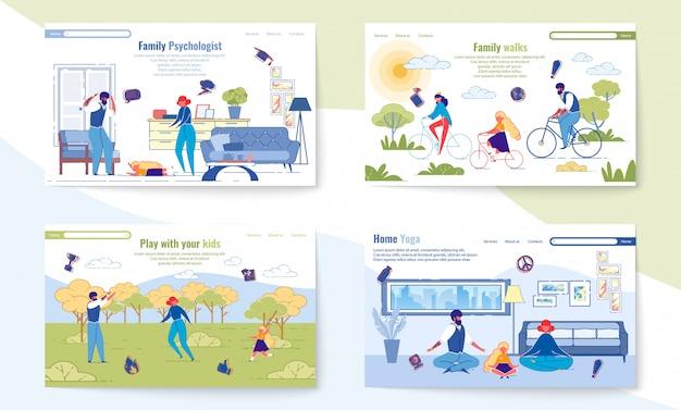Witryna pages dla wspólnego wychowywania szczęśliwego dziecka.