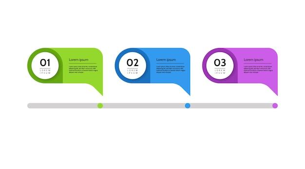 Wizualizacja danych biznesowych. wykres procesu. abstrakcyjne elementy wykresu, diagram z krokami, opcje. szablon do prezentacji. kreatywna koncepcja infografiki na białym tle ilustracji.