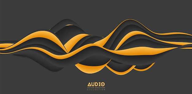 Wizualizacja fali dźwiękowej