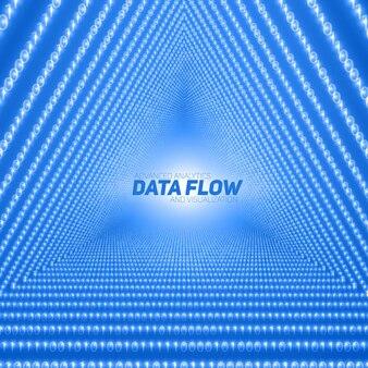 Wizualizacja wektorowego przepływu danych