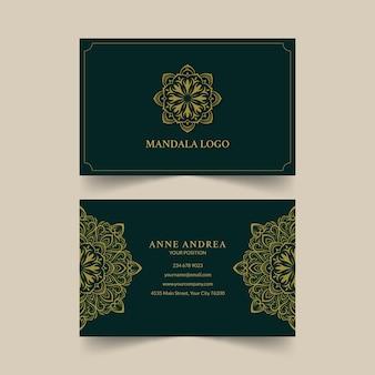 Wizytówka mandali