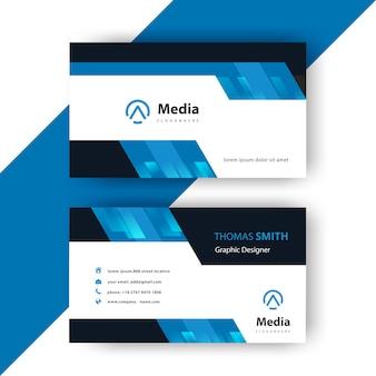 Wizytówka nowoczesna karta firmowa