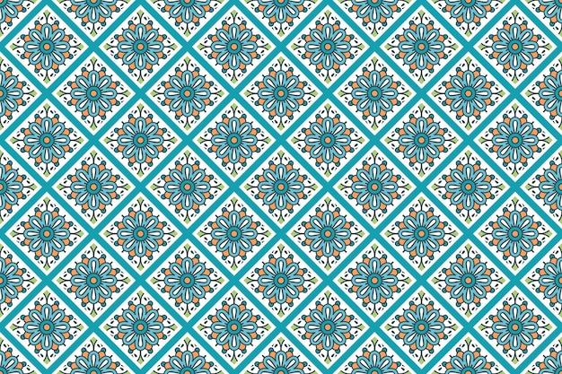 Wizytówka. vintage elementy dekoracyjne. ozdobne wizytówki kwiatowy, orientalny wzór, ilustracji wektorowych