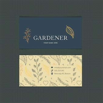 Wizytówki ogrodnika