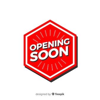 Wkrótce otwarcie logo