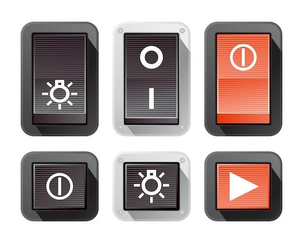 Włącz zestaw przycisków