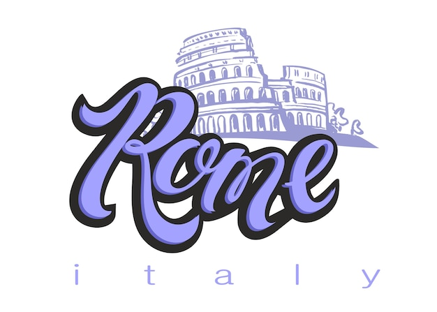 Włochy. rome.colosseum.