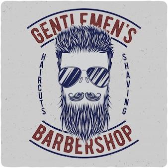 Włosy, wąsy, broda i okulary