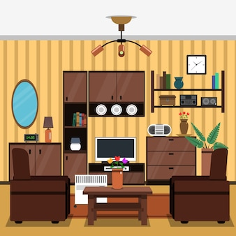Wnętrze concept flat