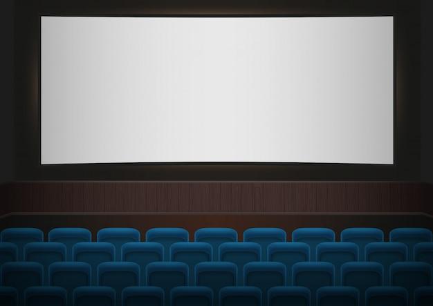 Wnętrze kina kinowego