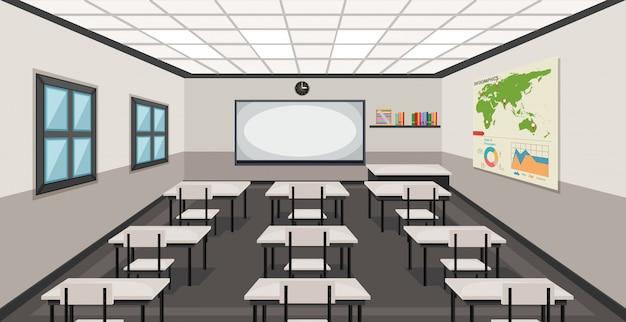 Wnętrze klasy