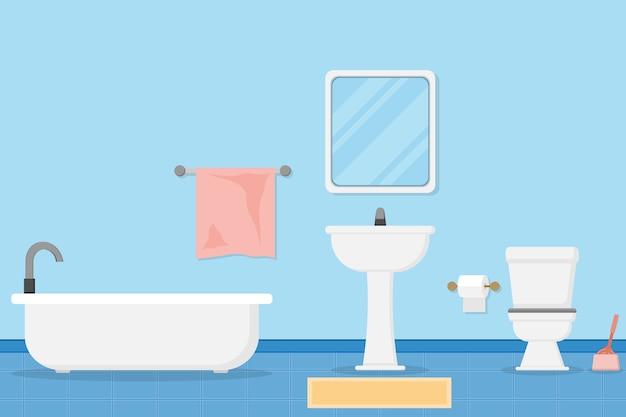 Wnętrze nowoczesnej łazienki