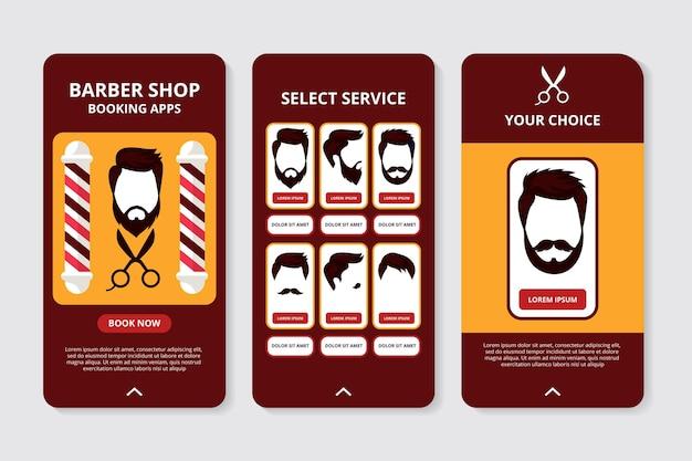 Wniosek o rezerwację w sklepie fryzjerskim