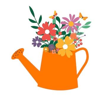 Woda może z ikoną bukiet kwiatów