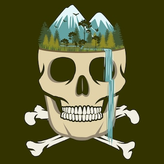 Wodospad czaszki