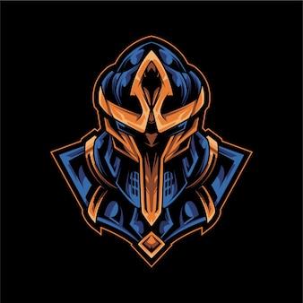 Wojownik armor logo esport