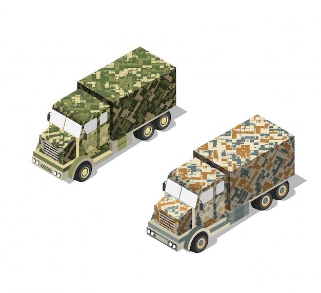 Wojsko ciężarówek wojskowych