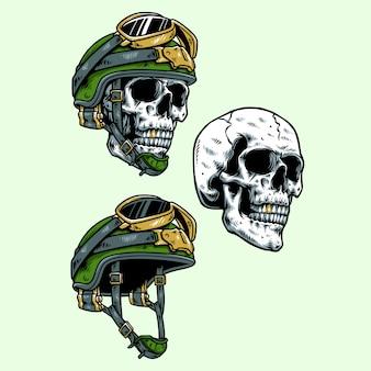Wojskowa czaszka