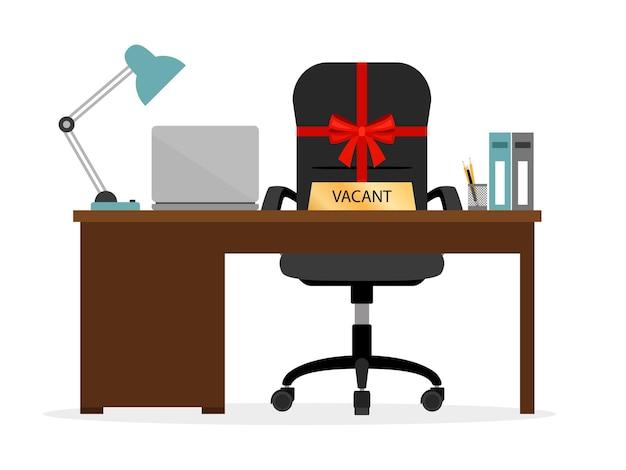 Wolne krzesło hr ikona.
