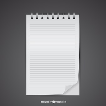 Wolne notebook makieta wektor