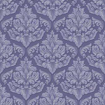 Wolumetryczne adamaszkowe bezszwowe tło wzór