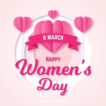 Womans dzień tło