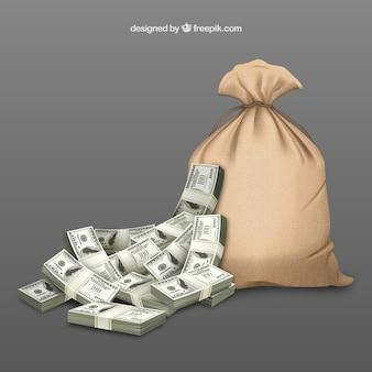 Worek pieniędzy